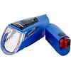 Trelock LS 460 I-GO POWER+LS 720 Akkubeleuchtung-Set blau
